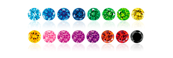 How do Coloured Diamonds get their Hues?