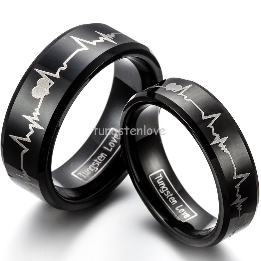 Black Wedding Rings For Men synrgyus