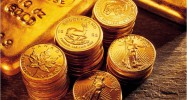 liquid-fin gold coins